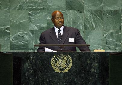 H.E. Mr.Yoweri Kaguta Museveni