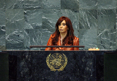 H.E. Ms.Cristina Fernández de Kirchner