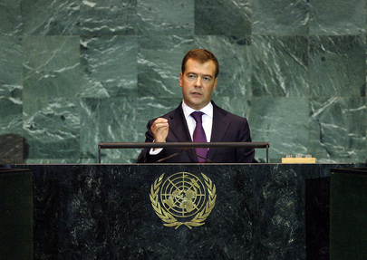 H.E. Mr.Dmitry Medvedev