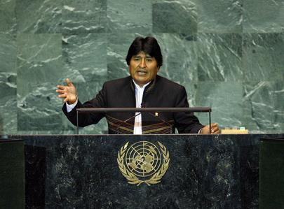 S.E. M. Evo Morales Ayma