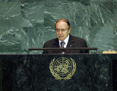 H.E. Mr.Abdelaziz Bouteflika