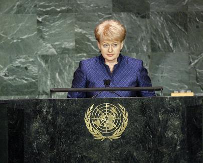 H.E. Ms.Dalia Grybauskaite