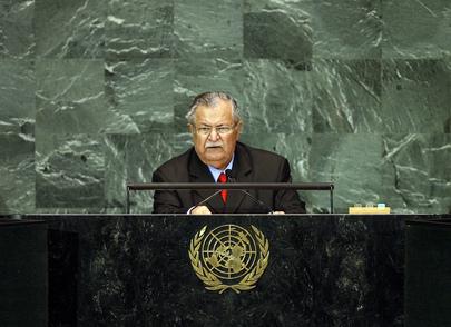H.E. Mr. Jalal Talabani