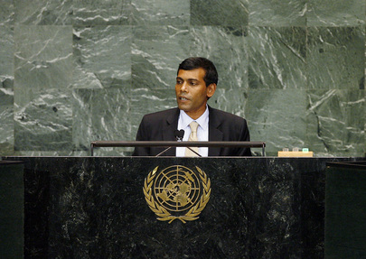 H.E. Mr. Mohamed Nasheed