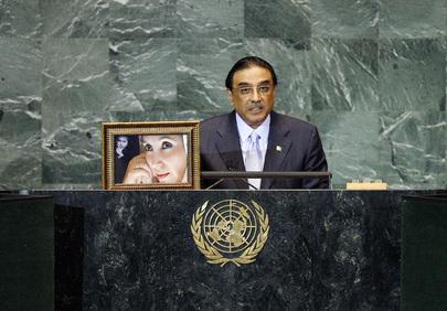 H.E. Mr.Asif Ali Zardari