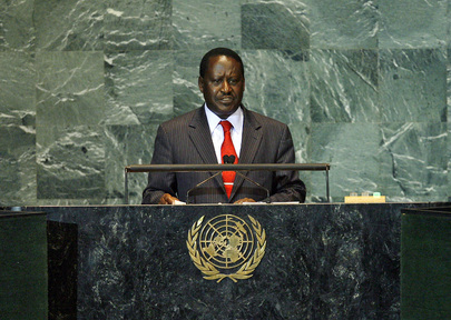H.E. Mr.Raila Amollo Odinga