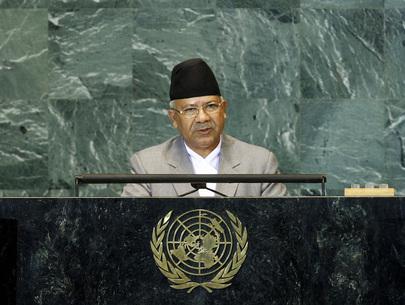 H.E. Mr.Madhav Kumar Nepal