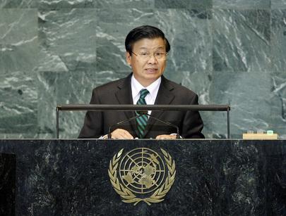 H.E. Mr.Thongloun Sisoulith