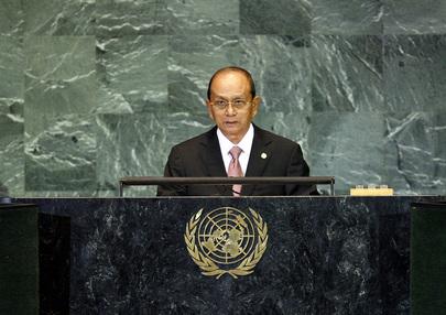 S.E. M.General Thein Sein