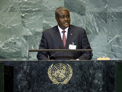 H.E. Mr.Moussa Faki Mahamat