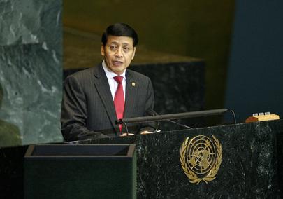 H.E. Mr.Hassan Wirajuda