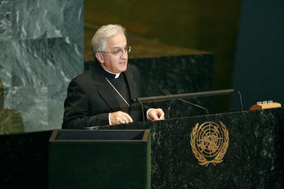 H.E. Mr.Archbishop Celestino Migliore