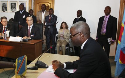 Permanent Representative of France and MONUC Head Meet Prime Minister of DRC