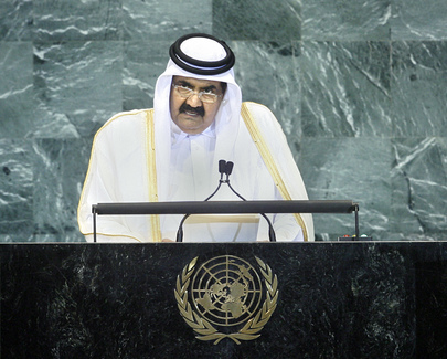 H.H.Sheikh Hamad bin Khalifa Al-Thani