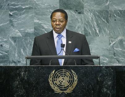H.E. Mr.Bingu Wa Mutharika