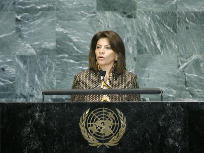 H.E. Ms.Laura Chinchilla Miranda
