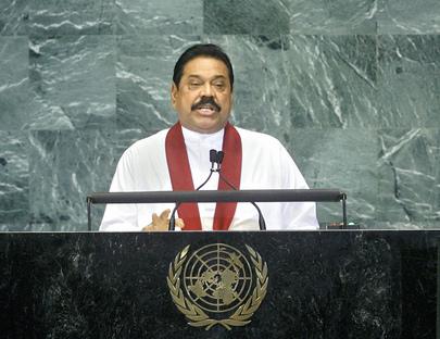 S.E. M.Mahinda Rajapaksa