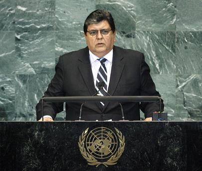 H.E. Mr.Alan García Pérez