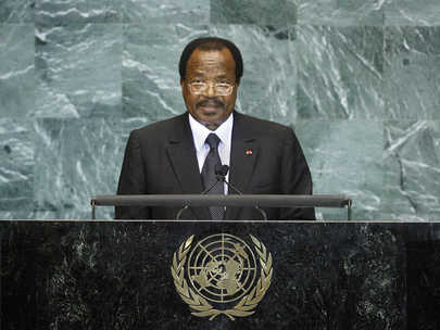 H.E. Mr.Mr. Paul Biya