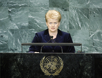 H.E. Ms.Dalia Grybauskaitė