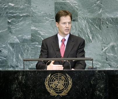 S.E. M.Nicholas Clegg