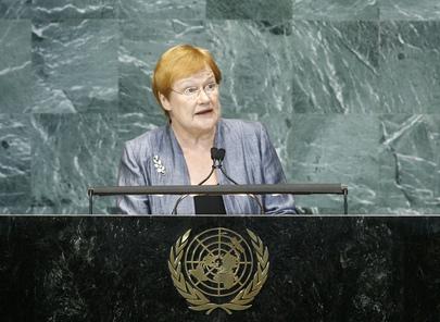 H.E. Ms.Tarja Halonen