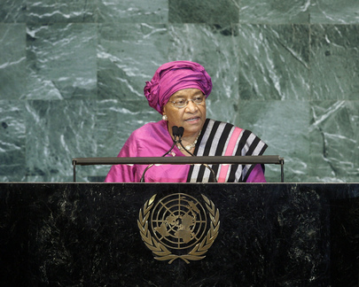 H.E. Ms.Ellen Johnson-Sirleaf