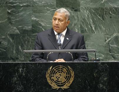 H.E. Mr.Commodore Josaia Bainimarama
