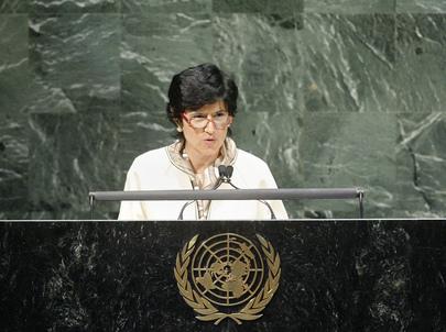 H.E. Ms.Antonella Mularoni