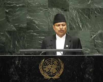 H.E. Mr.Bhim Bahadur Rawal