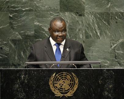 S.E. M.Kalombo Mwansa