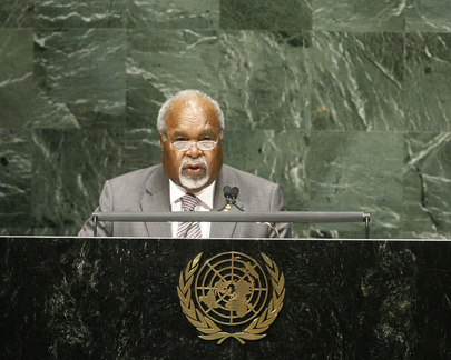 H.E. Mr.Sir Michael Somare