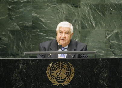 H.E. Mr.Walid Al-Moualem