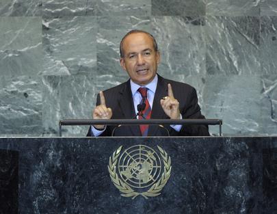 H.E. Mr.Felipe Calderón Hinojosa