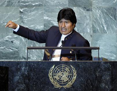 H.E. Mr.Evo Morales Ayma