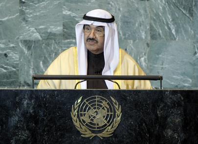 H.E. Mr.Naser Al-Mohammad Al-Ahmad Al-Sabah