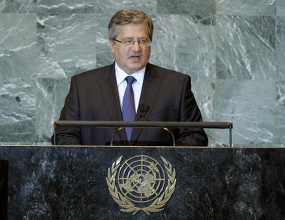 H.E. Mr.Bronislaw Komorowski