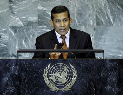 S.E. M.Ollanta Humala Tasso