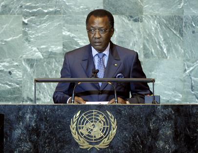 H.E. Mr.Idriss Déby Itno