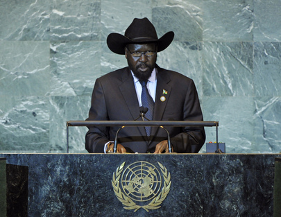 H.E. Mr.Salva Kiir