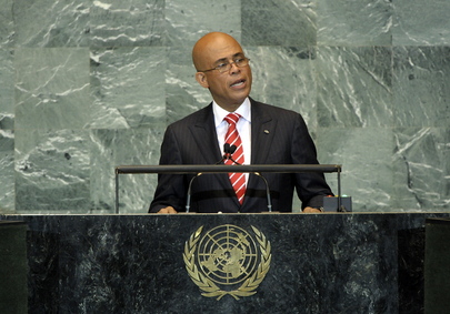 H.E. Mr.Michel Joseph Martelly