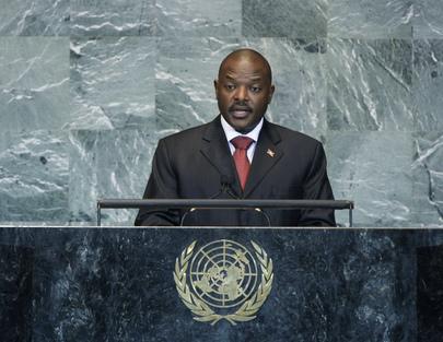 H.E. Mr.Pierre Nkurunziza