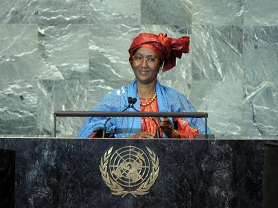 S.E. MmeCissé Mariam Kaïdama Sidibé