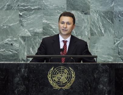 S.E. M.Nikola Gruevski