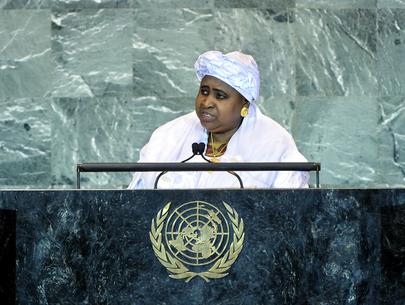 H.E. Mrs.Aja Isatou Njie-Saidy