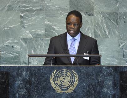 H.E. Mr.Basile Ikouebe