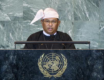 H.E. Mr.Wunna Maung Lwin