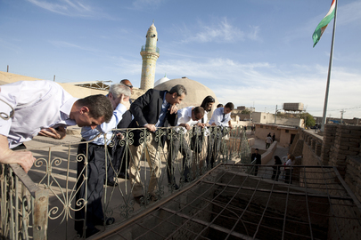 Special Representative for Iraq Visits Archaeological Site in Erbil