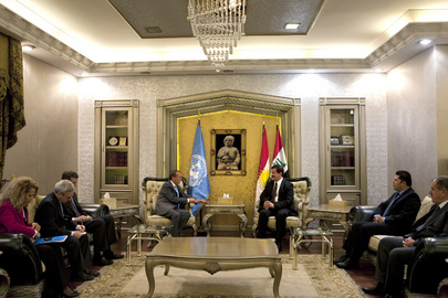 Special Representative for Iraq Meets Speaker of Kurdish Regional Parliament
