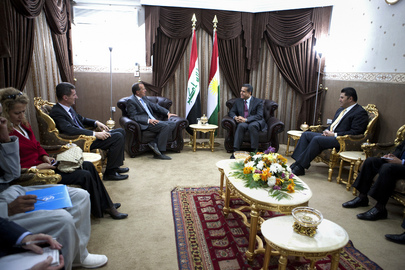 Special Representative for Iraq Meets Head of KRG Foreign Relations